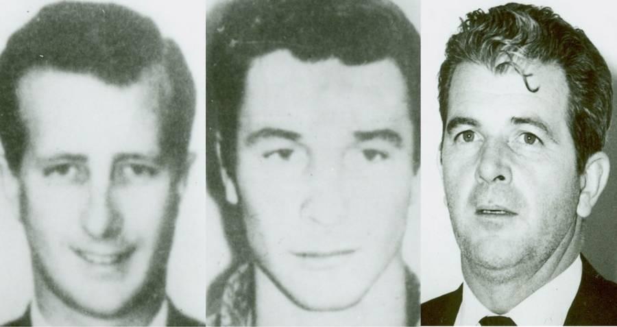 Mugshot of the Frank Sinatra Jr. Kidnappers