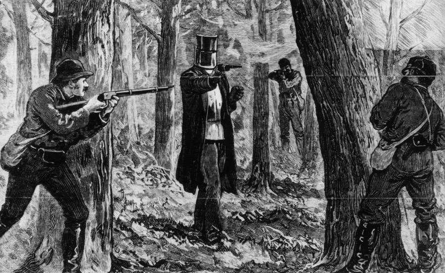 Ned Kelly Attacks The Police