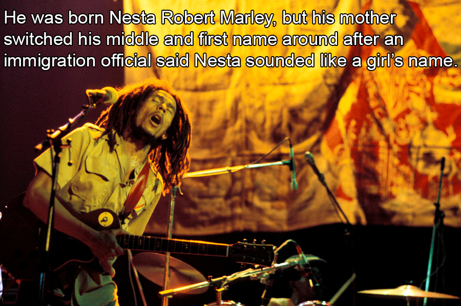 Bob Marley Facts About His Origins