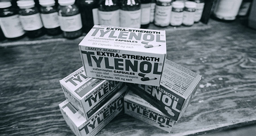 New Boxes of Tylenol