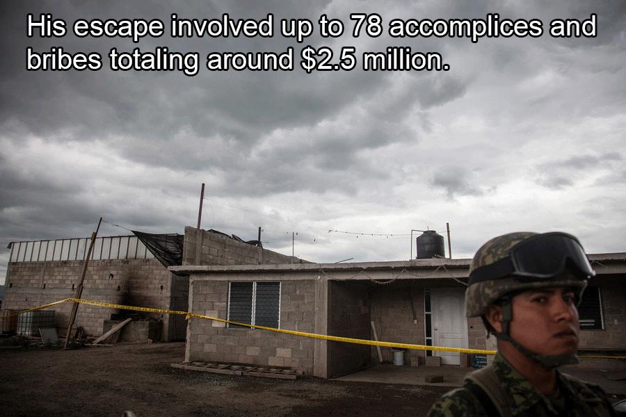 Joaquin Guzman Facts Prison Escape