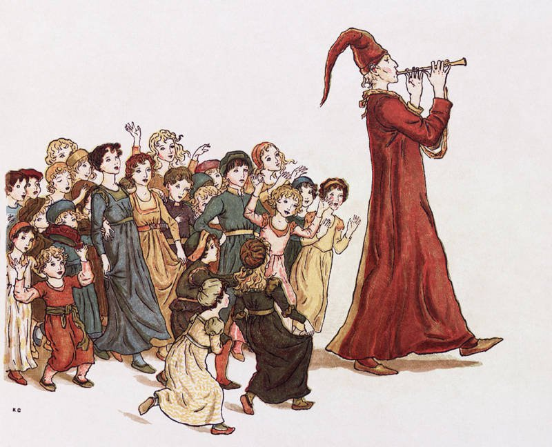 Pied Piper And Children
