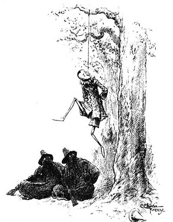 Pinocchio Gets Hanged