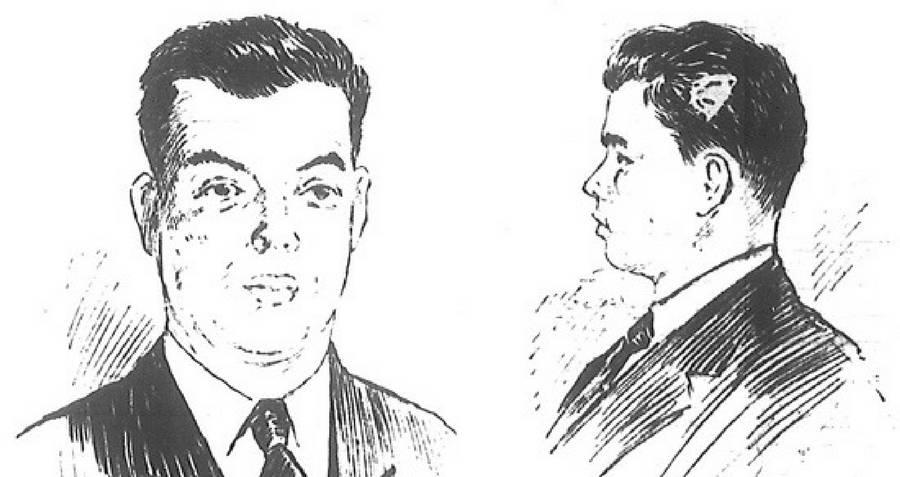 Police Sketch of Roland T. Owen