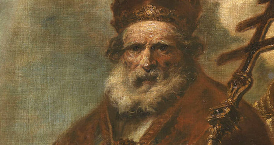 Painting of Pope Leo
