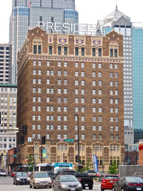 The Hotel President in Kansas City.