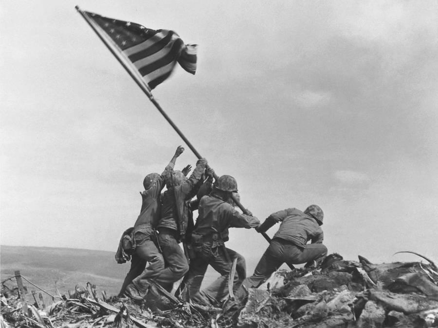 Raising The Flag On Iwo Jima Rosenthal
