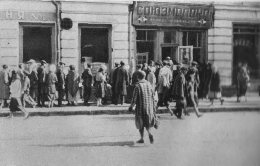 Streets During Holodomor