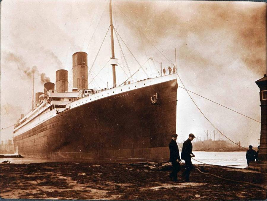 Photo Taken Before Titanic Sinking