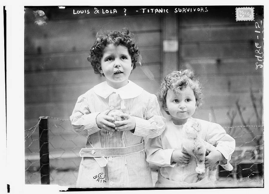 Titanic Survivor Children