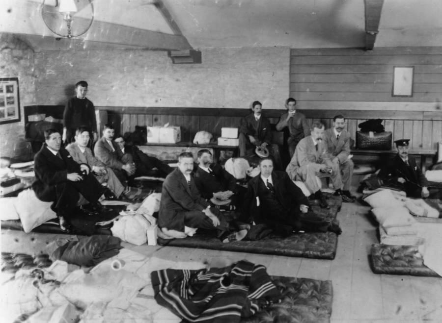 Titanic Survivors Waiting