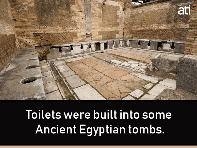 Toilets Egyptian Tombs