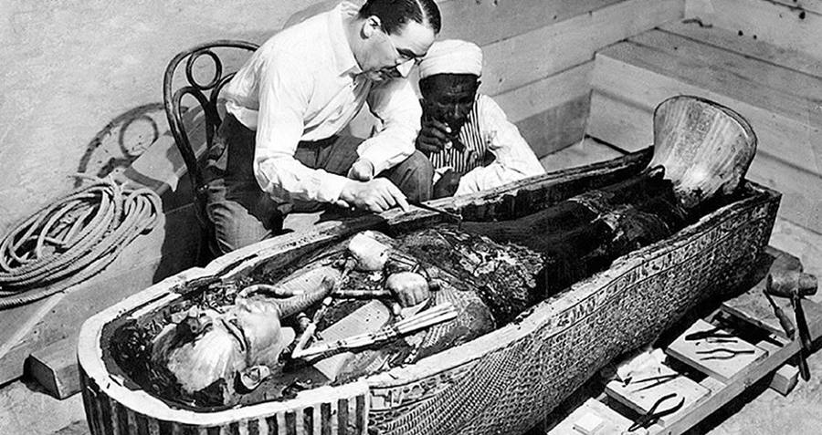 Researchers open King Tutankhamun's Tomb