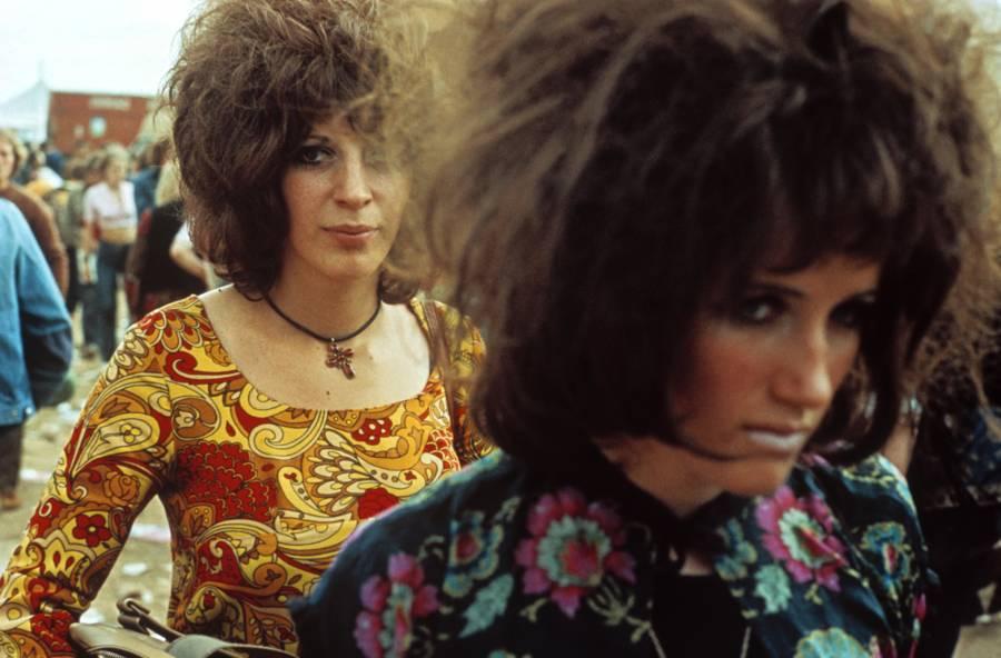 Two Hippie Women