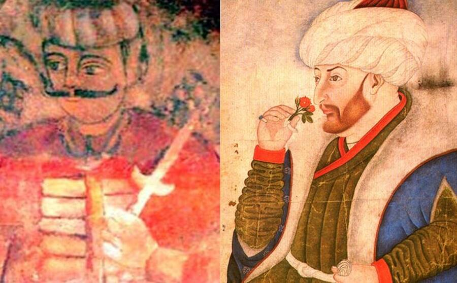 Vlad Dracul And Ottoman Sultan