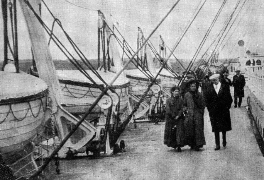 Walking Past Lifeboats