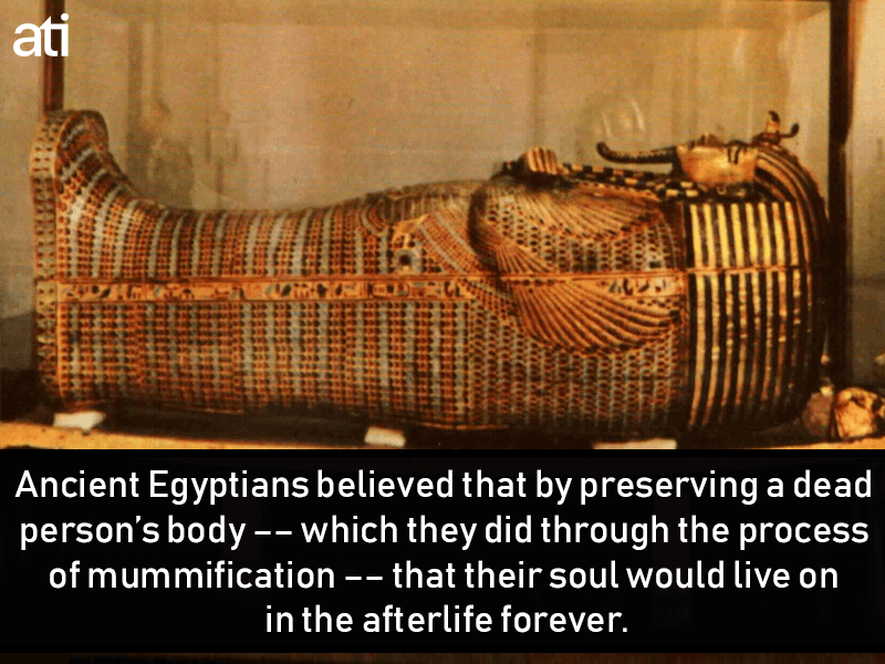 Why Ancient Egyptians Preserved The Dead