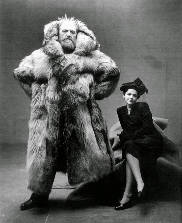 Peter Freuchen With His Wife