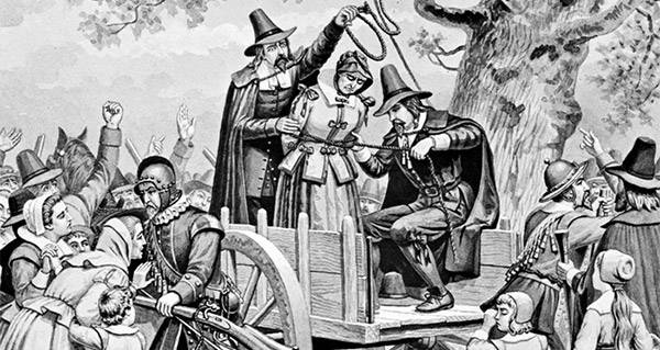 salem witch trial hysteria in the The salem witchcraft trials have cast a spell over historians and  during  january 1692, several girls in salem village had hysterical fits and began to  exhibit.