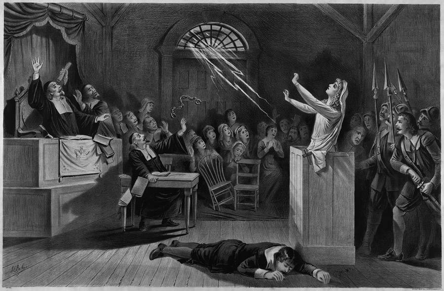 salem witch trial hysteria in the Women's roles during this era were vastly different than the roles of men, and because of this, a greater number of women were targeted during the salem witch trials of 1692.