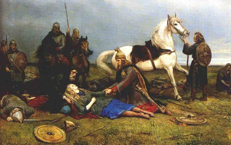 Death Of A Shieldmaiden