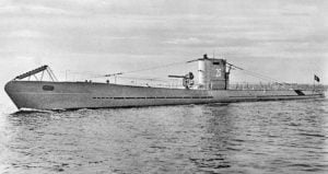 WW2 German U-Boat