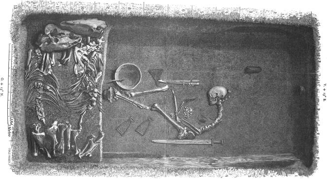 Female Viking Grave