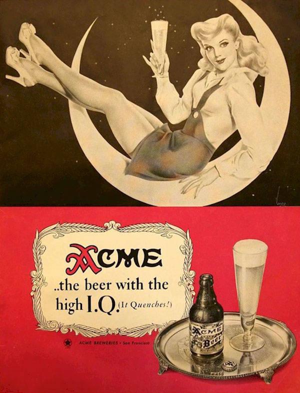 Acme Beer Advert