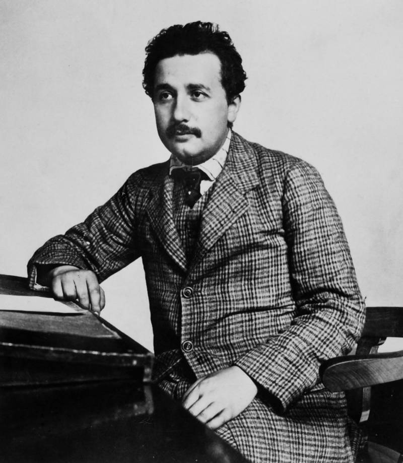 Albert Einstein Young