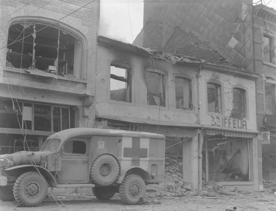 Ambulance in Bastogne