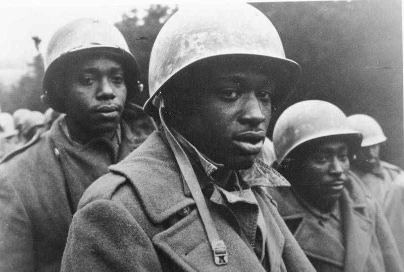 Black Soldiers During The Battle of the Bulge