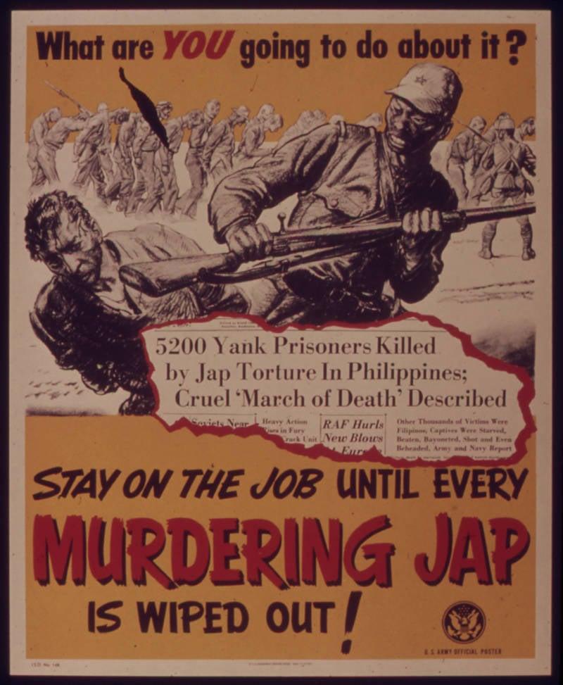 Anti Japan Flier