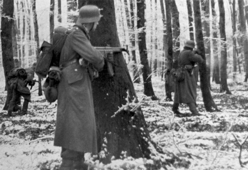 Nazis during the Battle of the Bulge
