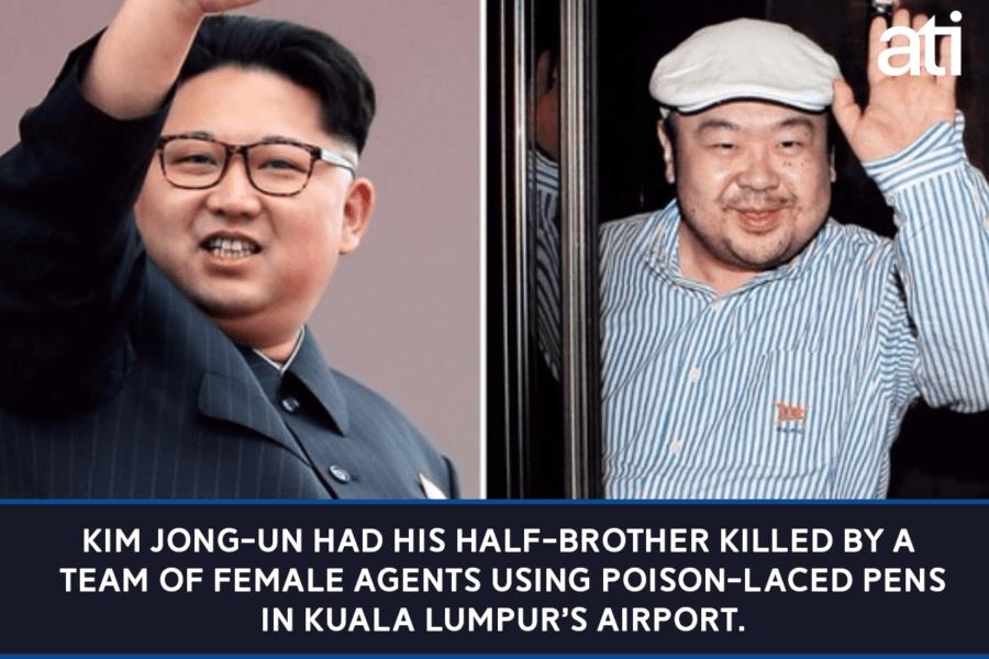 Assassination Of Kim Jong Un Brother