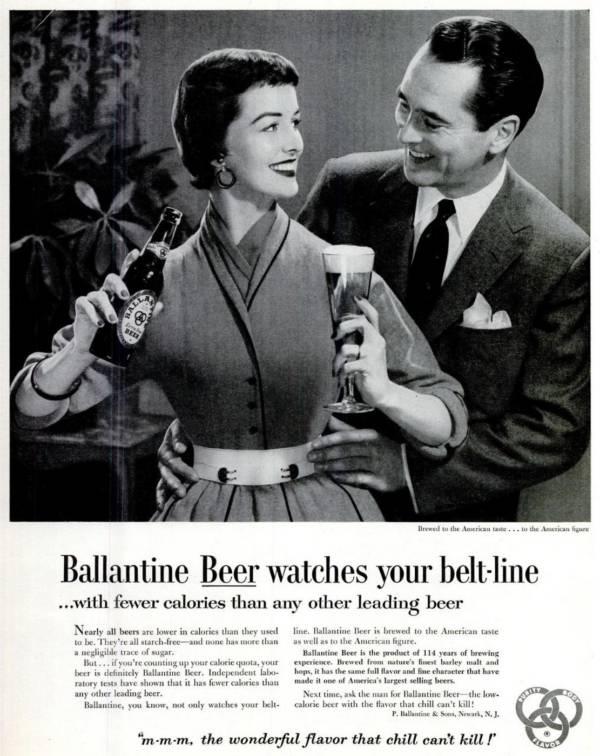 Ballantine Beer Advert