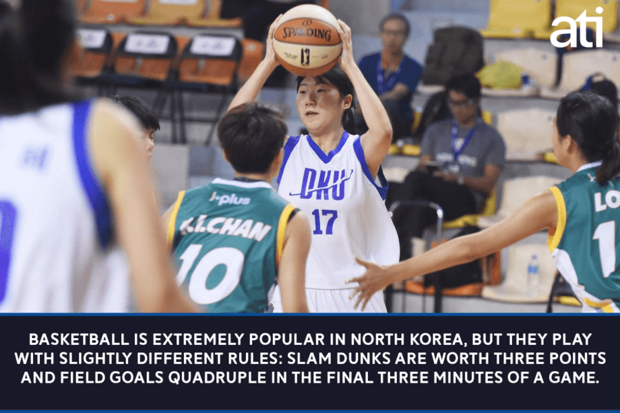 Basketball In North Korea