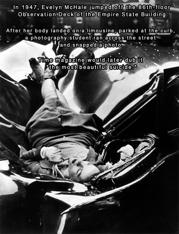 Evelyn McHale Suicide Photo