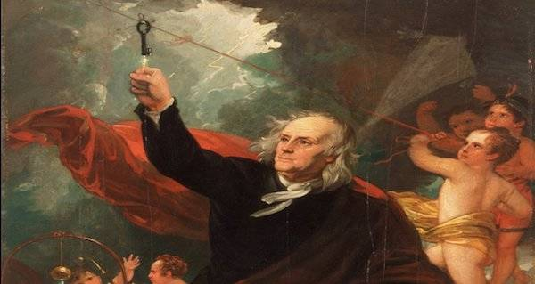 """Benjamin Franklin Essay """"To the Royal Academy of Brussels"""""""