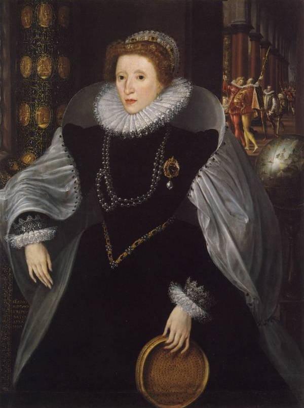 Black Teeth Elizabethan Fashion