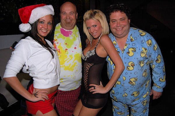 Blake Farenthold in his pajamas for a party