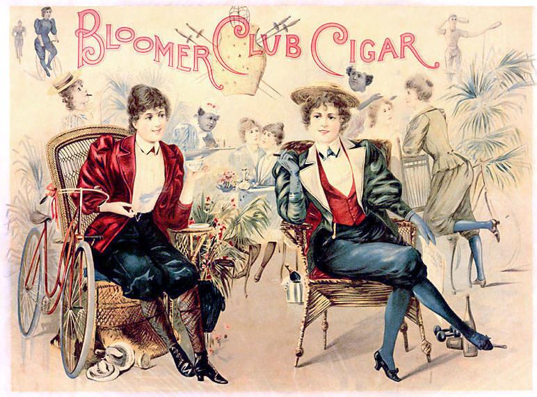 Bloomers 1800s Rendering
