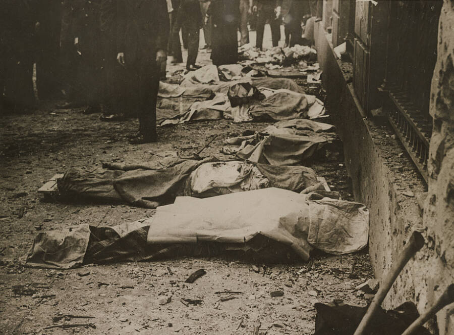 Bodies Killed In The Wall Street Explosion