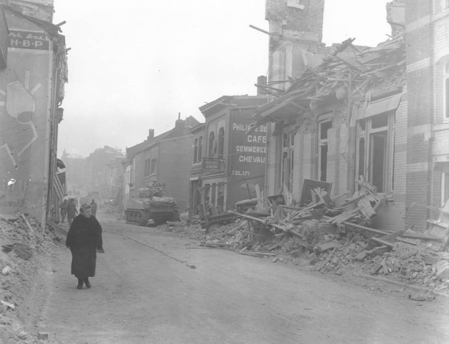 Bastogne during the Battle of the Bulge