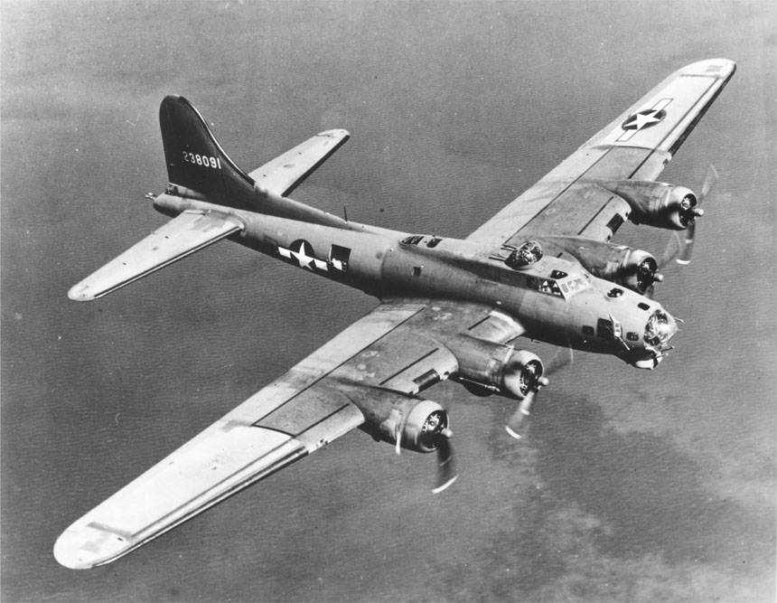 Bomber Flying Fortress