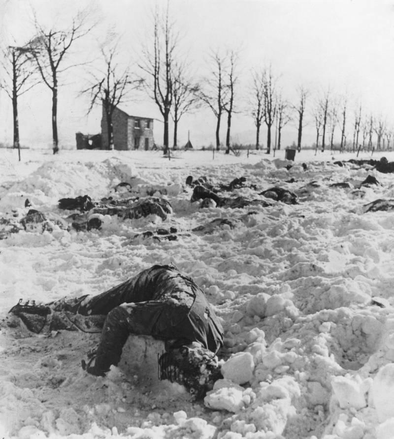 Bones of murdered soldiers