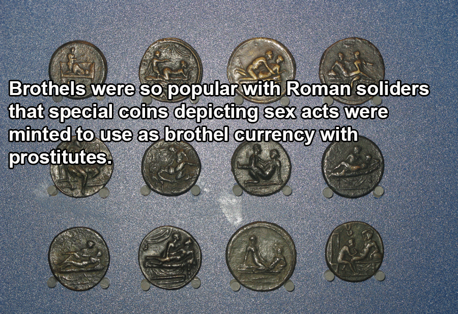 Roman Coins For Brothels