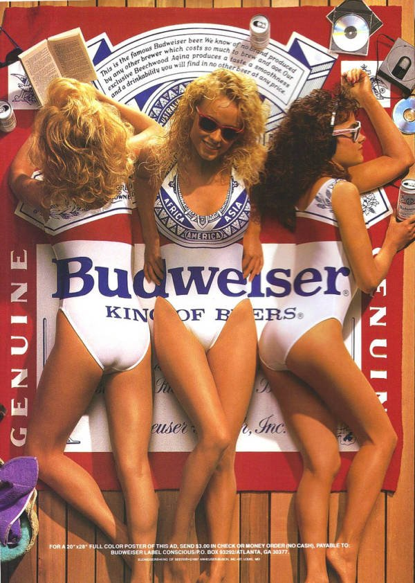 Budweiser Beer Advert
