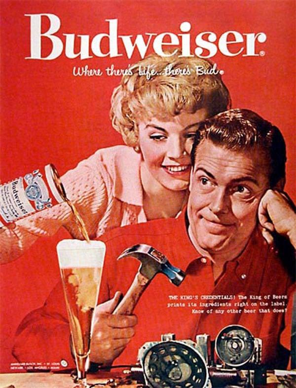 Budweiser Hammer Advert