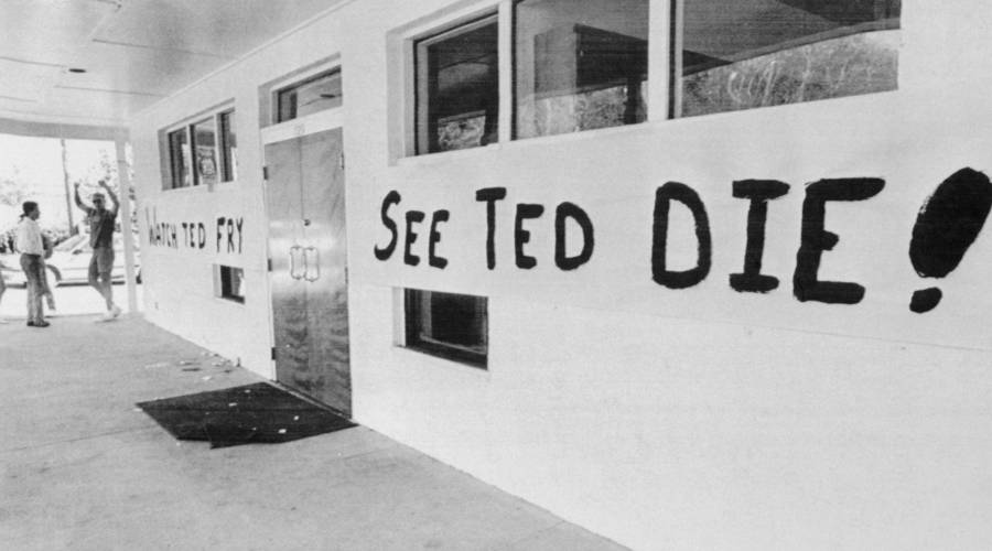 Party For Ted Bundy's Execution