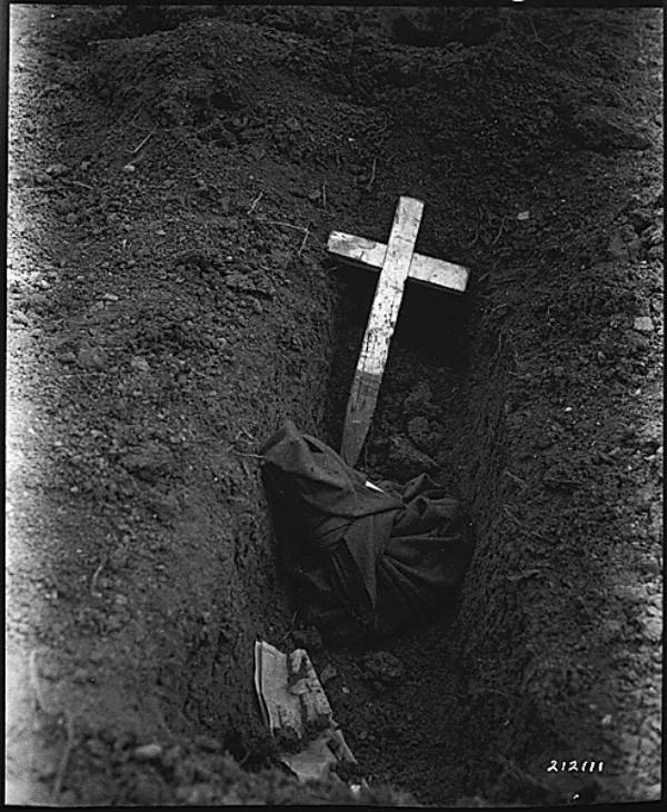 Buried Soldier